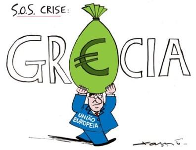 charge grecia crise