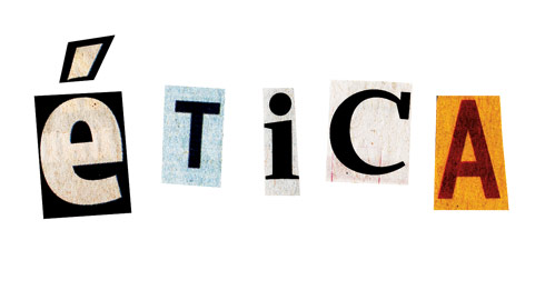 letras formando ética