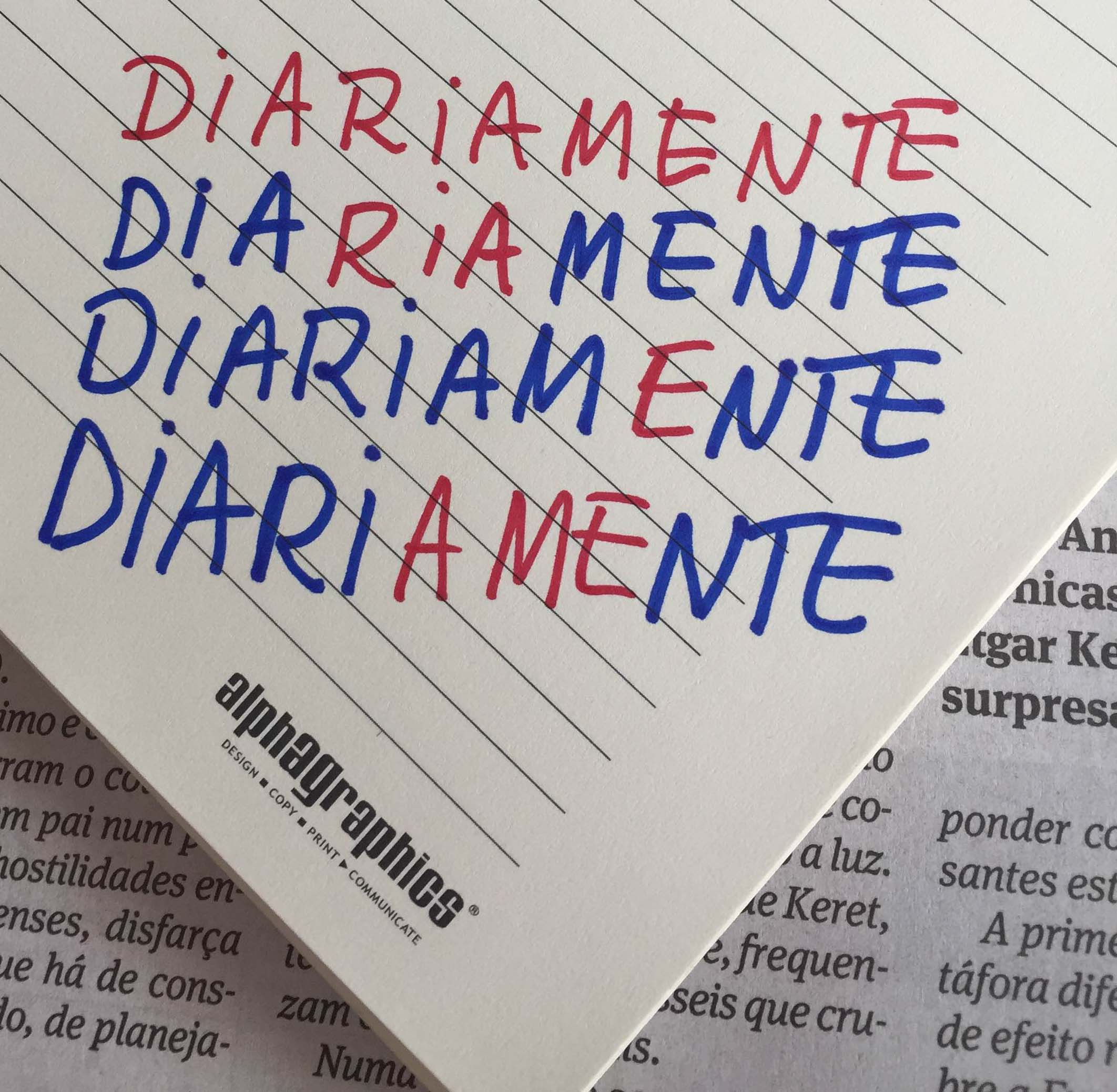 folha escrita