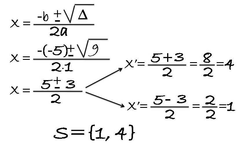 equação resolvida